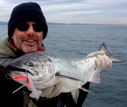 Freshwater Bay Salmon Fishing Map